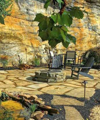 Natural Stone Patio Design & Installation