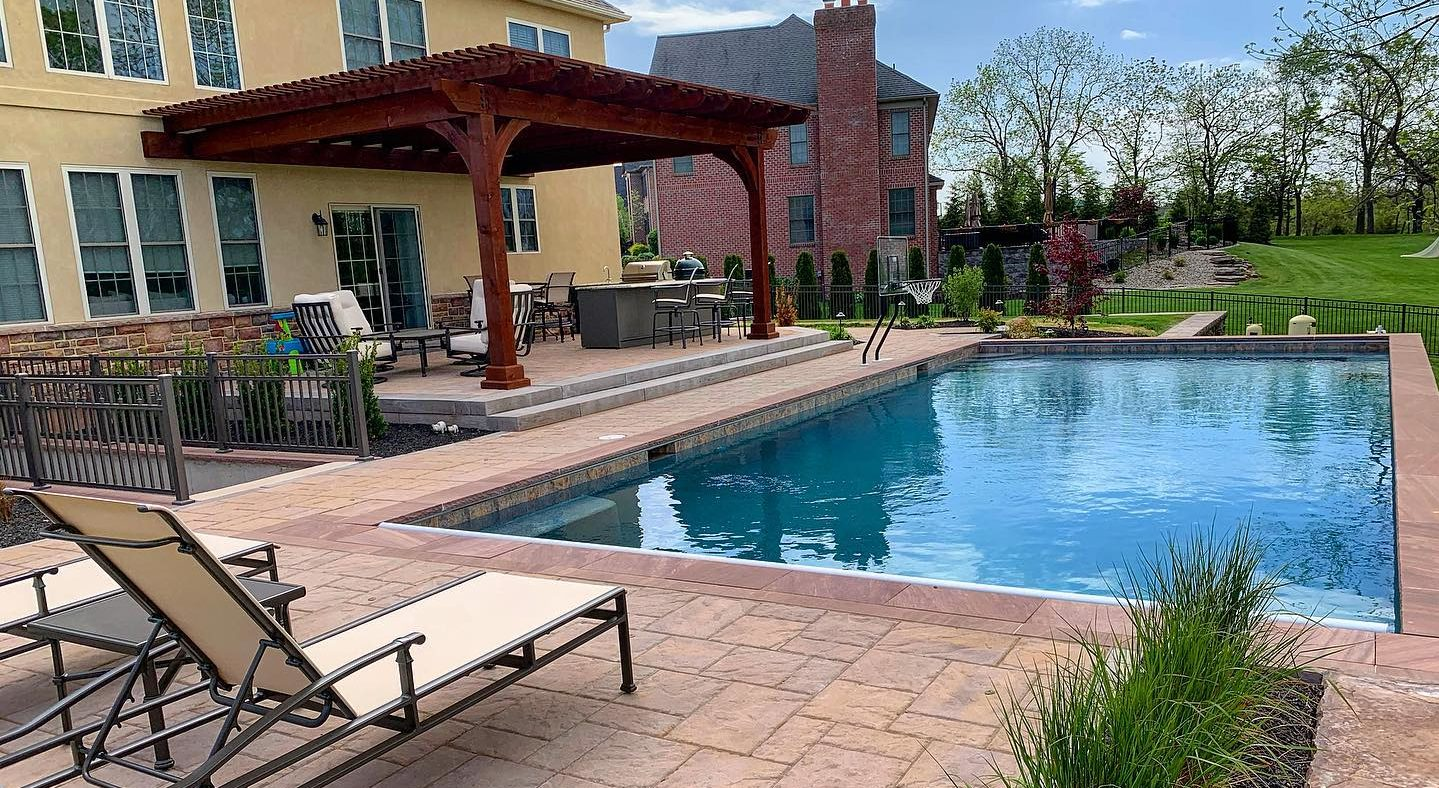 Poolside Patio & Living Area
