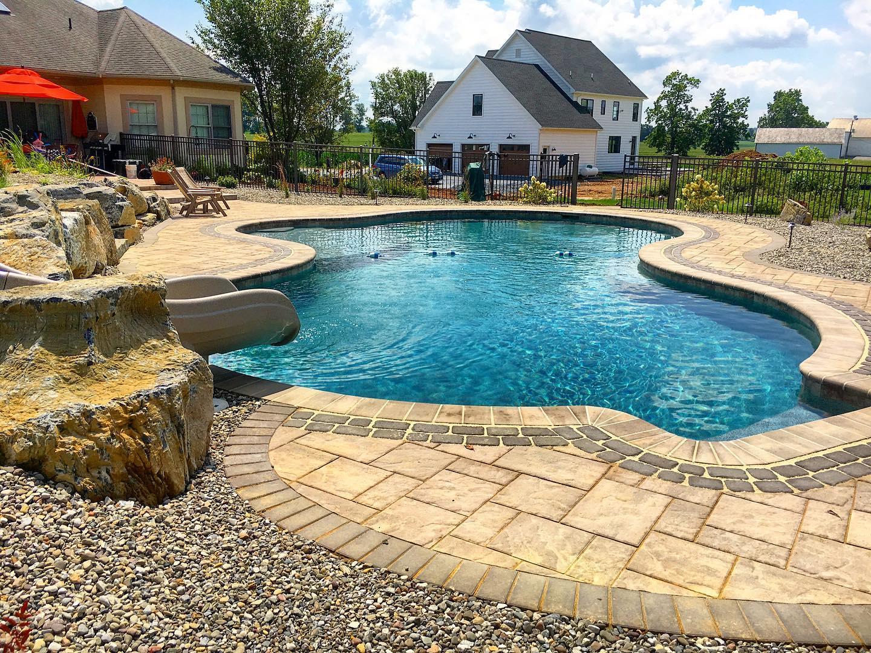 Custom Swimming Pool & Patio