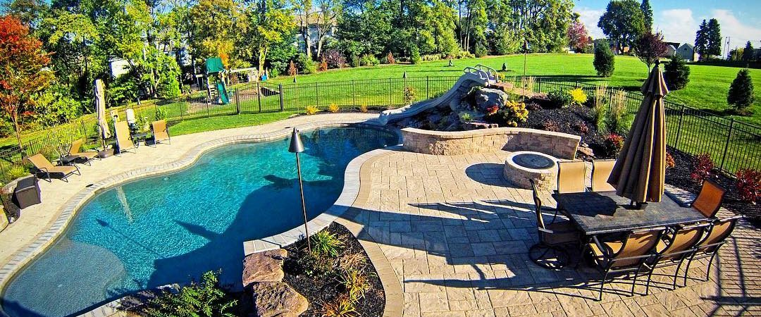 Poolside Patio & Outdoor Living Area